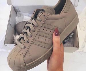 adidas, shoes, and nails image