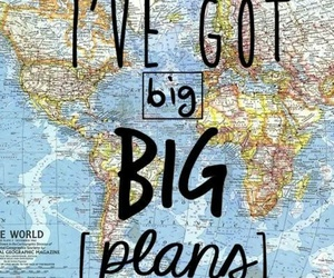 travel, plan, and world image