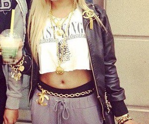 honey cocaine, swag, and blonde image