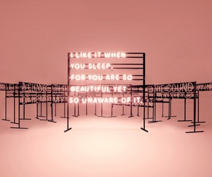 the 1975, pink, and light image