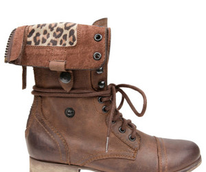 boots, fashion, and leopard image