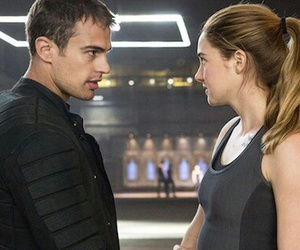 four, Shailene Woodley, and divergent image