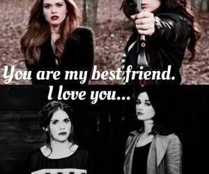 best friends, allydia, and easel image