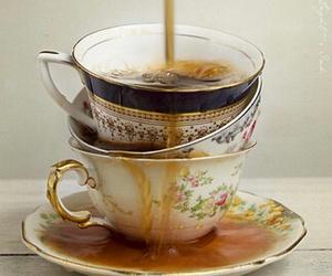 coffee, tea, and tea cup image
