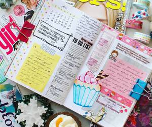 diary, journal, and note image