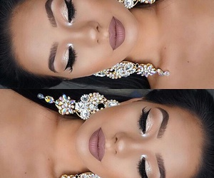 beauty, glamour, and makeup image