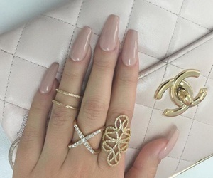 nails, chanel, and pretty image