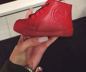 gucci, baby, and red image
