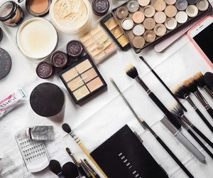 makeup, beauty, and indie image