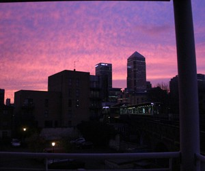 tumblr, city, and pink image