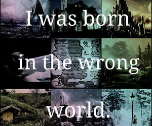 harry potter, book, and world image