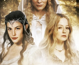 eowyn, lord of the rings, and galadriel image