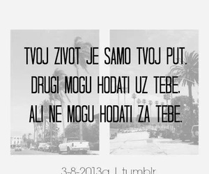 quotes, bosna, and život image