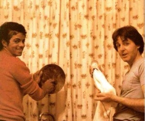 michael jackson, Paul McCartney, and the beatles image
