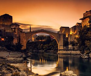 architecture, mostar, and wanderlust image