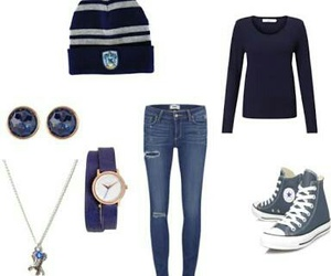 harry potter, hogwarts, and outfit image