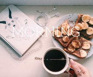 breakfast, morning, and tumblr image