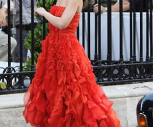 gossip girl, leighton meester, and red image
