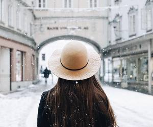 winter, cold, and fashion image