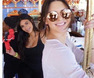 kendall jenner, kim kardashian, and sisters image
