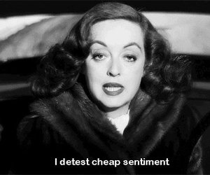 Bette Davis, cheap, and quote image