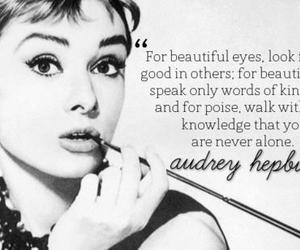 audrey hepburn, quote, and beauty image