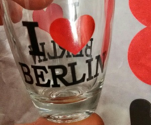 berlin, glass, and drinks image