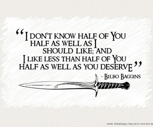 bilbo baggins and quotes image