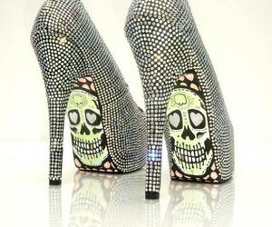 shoes and skull image