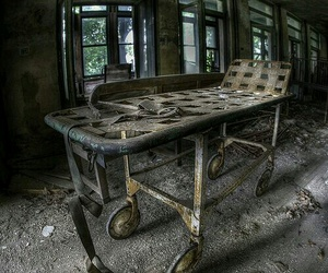 abandoned, alone, and hospital image