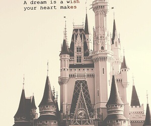 disney, Dream, and wish image