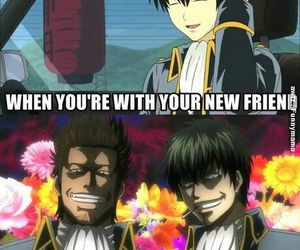 anime, funny, and gintama image