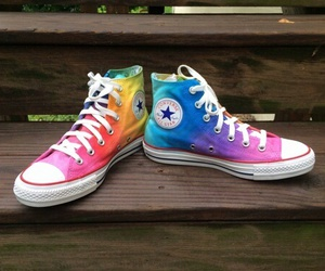 rainbow and converse image