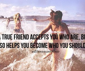 friends, quote, and friendship image