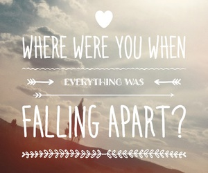 bands, falling, and music image