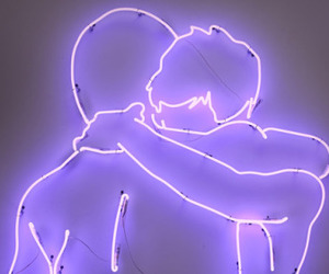 aesthetic, hugs, and lights image
