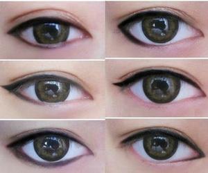 макияж and стрелки для формы глаза image