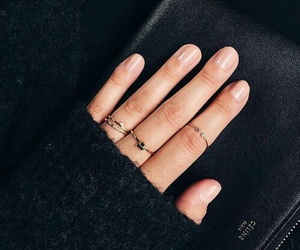 nails, ring, and rings image