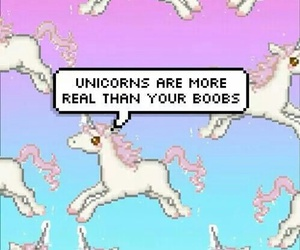 really, unicorn, and wallpaper image