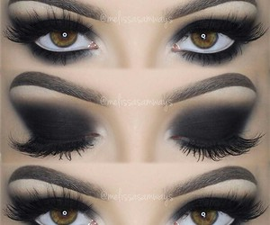 awesome, black, and eyes image
