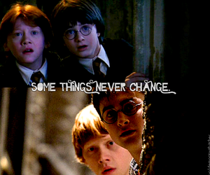 change, daniel radcliffe, and ron weasley image