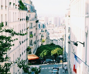 city, france, and travel image
