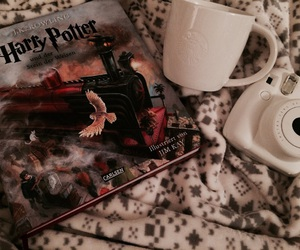 coffee, harry potter, and starbucks image
