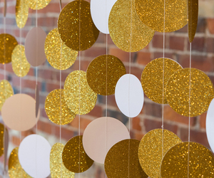decoration, garland, and glitter image