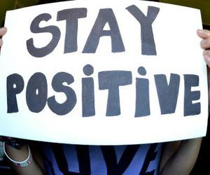 photography, text, and stay positive image