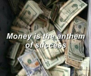 money, grunge, and success image