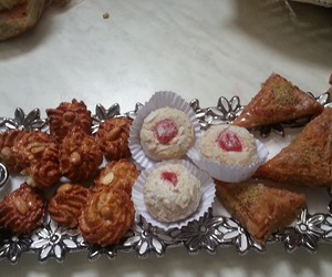 arab, cake, and cakes image