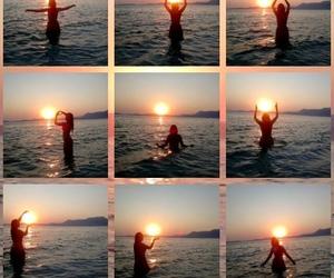 Greece, sea, and sun image