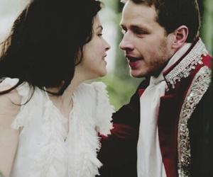 charming, snow, and ️ouat image