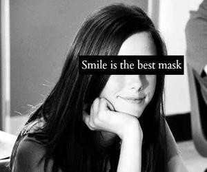 smile, mask, and sad image